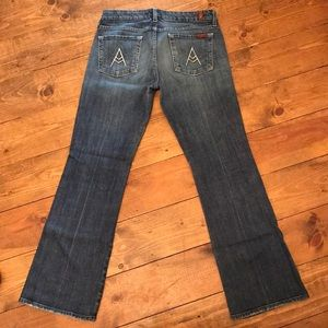 Women's 7 For All Mankind jeans, size 29